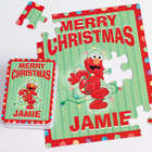 Personalized Elmo Christmas Puzzle