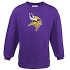 Minnesota Vikings Preschool Primary Logo Long Sleeve T-Shirt