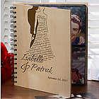 Personalized Wedding Photo Album - Bride & Groom