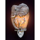 Mom and Baby Elephant Night Light
