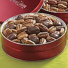 Chocolate Pecan Mix Gift Tin