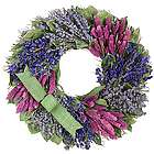 Purple Spring Floral Wreath