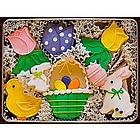 Easter Basket Cookie Gift Tin