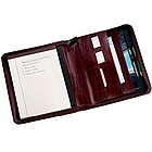 Multi Task Zip Folio in Top Grain Napa Cowhide
