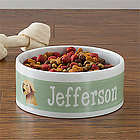 Top Dog Breeds Personalized Pet Bowl