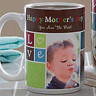 Large Photo Fun Personalized Coffee Mug