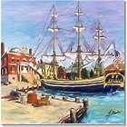 Friendship, Historic Salem Harbor Framed 8x10 Art Print