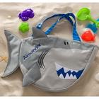 Personalized Shark Bag with Beach Toy Set