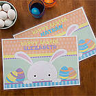 Easter Bunny Personalized Laminated Placemat
