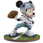 "Dallas Cowboys ""Quarterback Hero"" Mickey Mouse Figurine"