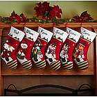 Personalized Winter Wonderland Christmas Stocking