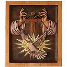 Holy Trinity Cedar Wood Panel