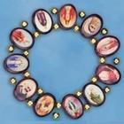Brazilian Wood Saints Bracelet