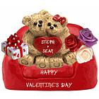 Loving Teddy Bear Couple Personalized Keepsake