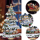 Personalized Thomas Kinkaide Wonderland Express Christmas Tree