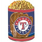 Texas Rangers 3 Way Popcorn Tin