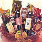 Triple Play - 3 Bottle Wine Basket