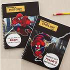 Personalized Spiderman Notebooks