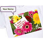 Flowers for Mom Personalized T-Shirt