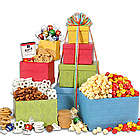 Springtime Treats Gift Tower