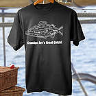 What a Catch Personalized Adult T-Shirt