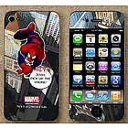 Personalized Spiderman iPhone Skin