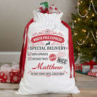 Personalized Special Delivery Santa Bag