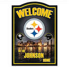 Pittsburgh Steelers Personalized Welcome Sign