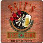 Personalized Darts Coaster Puzzle Set
