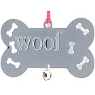 Personalized Silver Doggie Bone Ornament