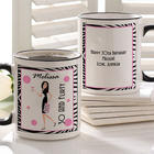 Birthday Gal Personalized Coffee Mug