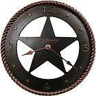 Maverick Western Star Wall Clock