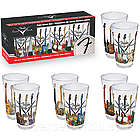Fender Guitar Pint Glass Set