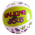 Walking with Jesus Mini Beach Ball