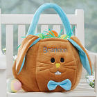 Personalized Easter Bunny Basket for Boys