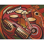 The Love of Music Personalized Print