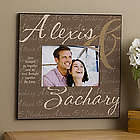 Love Brought Us Together Personalized Picture Frame