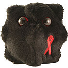 HIV Plush Doll