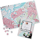 Your Home is the Center of This Map Jigsaw Puzzle