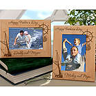 Personalized Sailing Wooden 4x6 Picture Frame