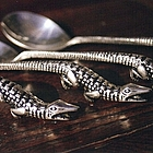 Gumbo Alligator Spoon Set