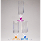 Acrylic Hurricane Glass