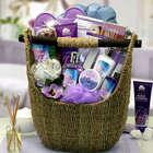 Lavender Sky Ultimate Spa Experience Bath and Body Tote