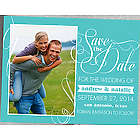 Simply in Love Custom Photo Save the Date Magnets
