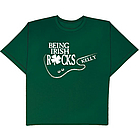 Personalized Being Irish Rocks T-Shirt