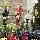 Solar Powered Jungle Birds Garden Lights
