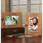 "Personalized ""I Can Bear-ly Believe"" Wooden Picture Frame"