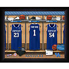 Personalized University of Kentucky Basketball Locker Room Print