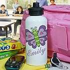 Personalized Butterfly Water Bottle
