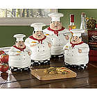 Ceramic Chefs Canister Set